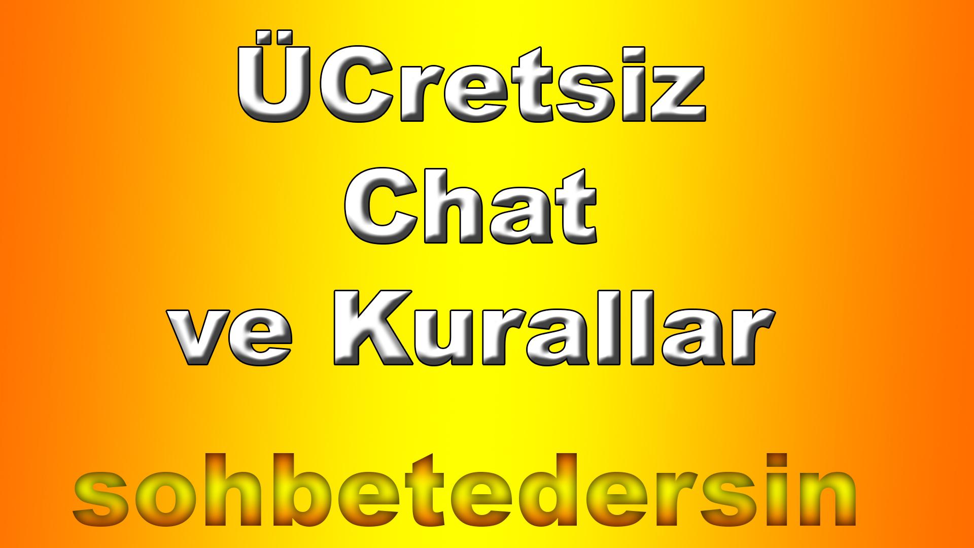 Ücretsiz Chat